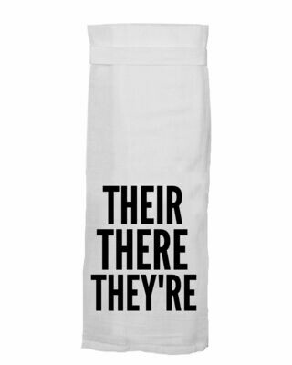 Their, There, They're - Towel
