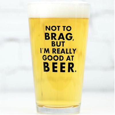 Good at Beer Pint