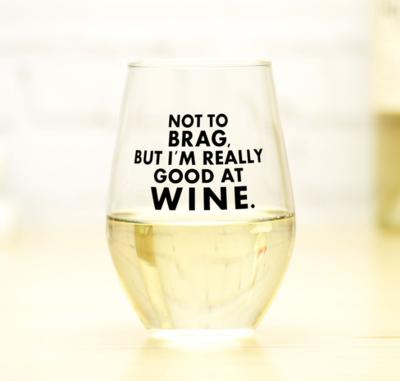 Good at Wine Glass
