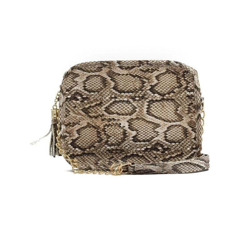 Sightseer Box Bag w/ Tassel - Black