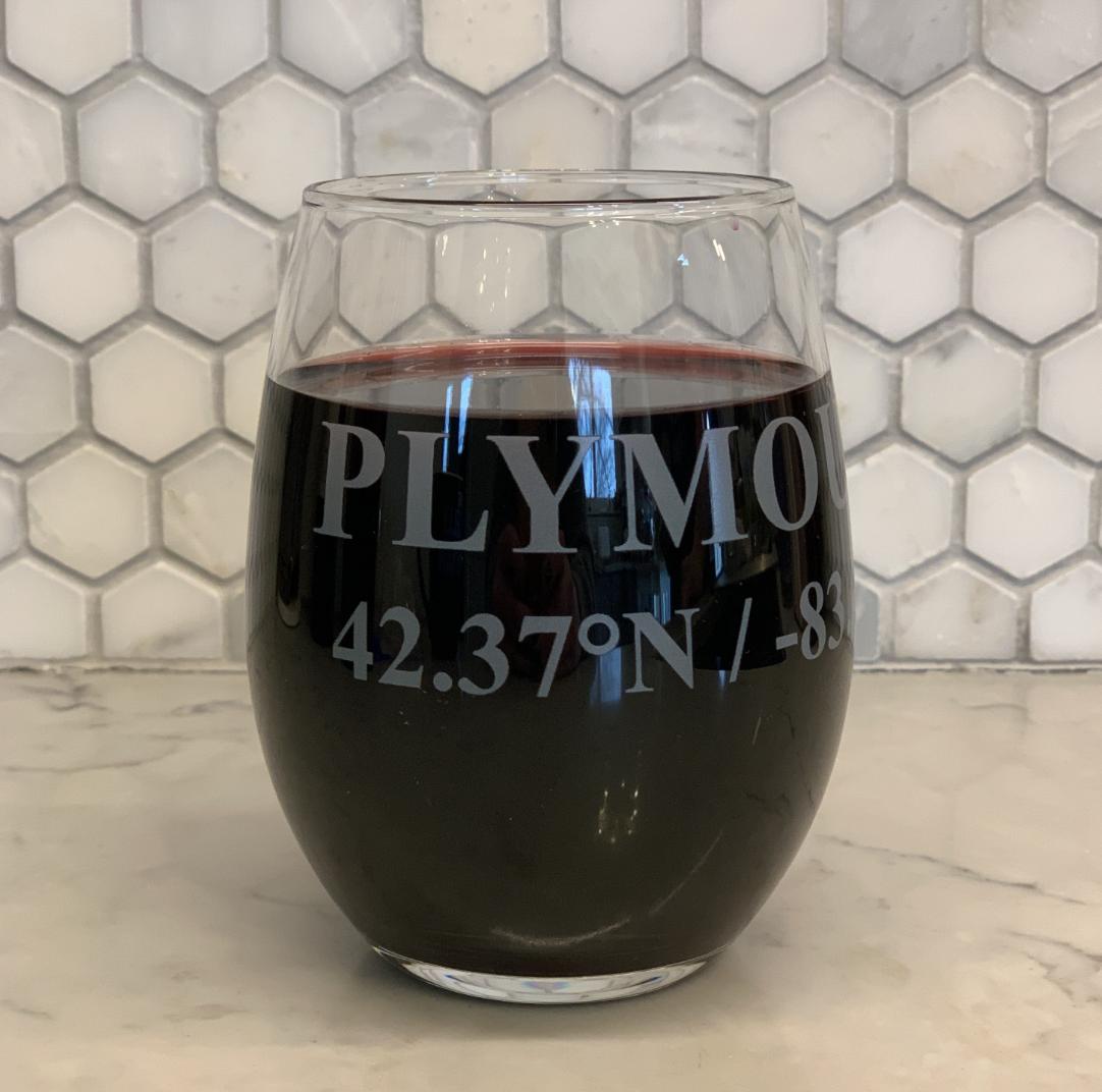 BoHo Plymouth Wine Glass