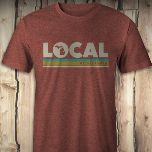 Local Michigander Tee