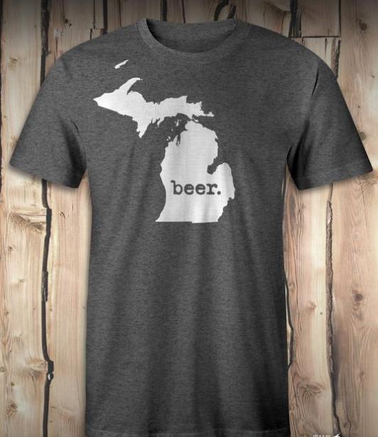 Michigan Beer Tee