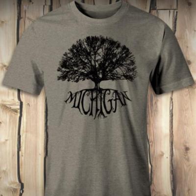 Michigan Tree Tee