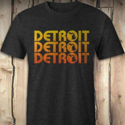 Detroit x3 Tee