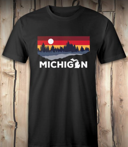 Michigan Lake Tee