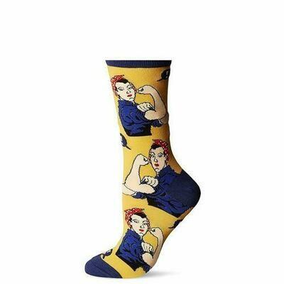 Rosie the Riveter Sock