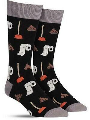 Potty Party Men's Sock