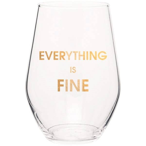 Everything is Fine Glass