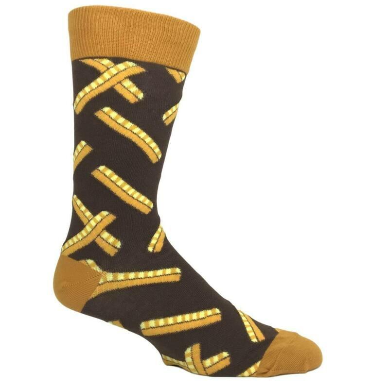 Crinkle Cut Men's Sock