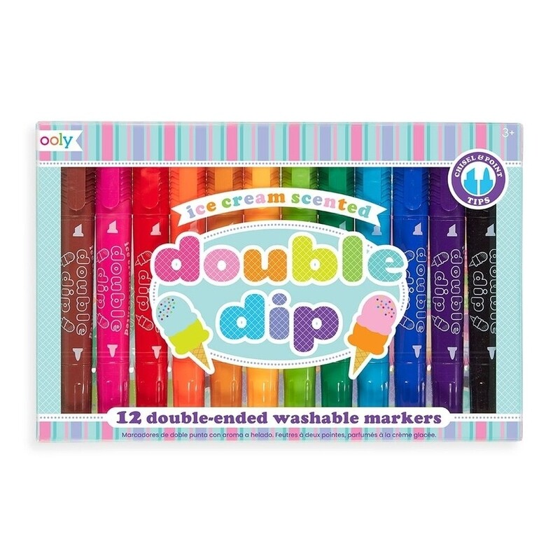 Double dipped Scented Markers