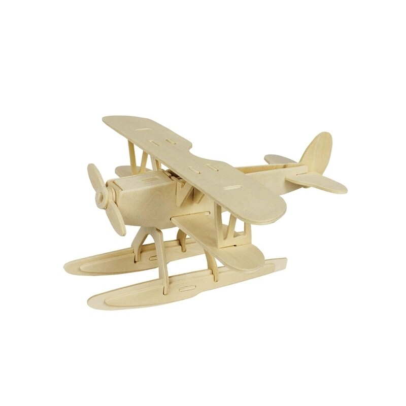 Wooden Puzzle: Hydroplane