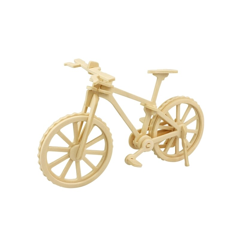 Wooden Puzzle: Bicycle