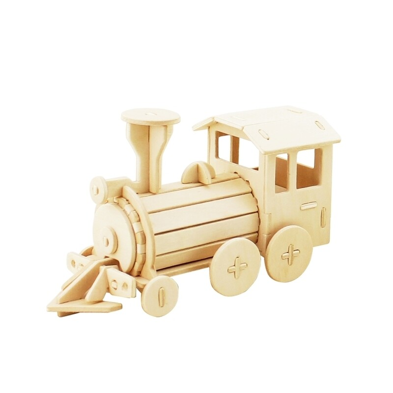 Wooden Puzzle: Locomotive