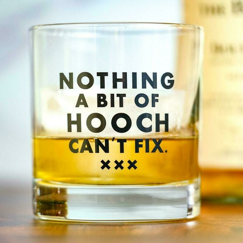 Hooch Rocks Glass