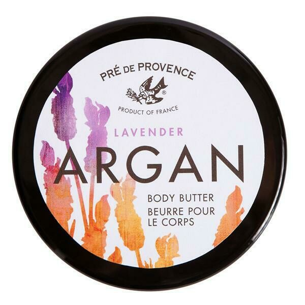 Argan Body Butter: Lavender