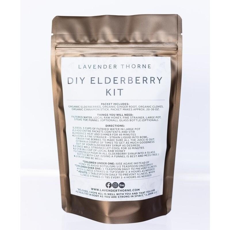 Elderberry Syrup - DIY