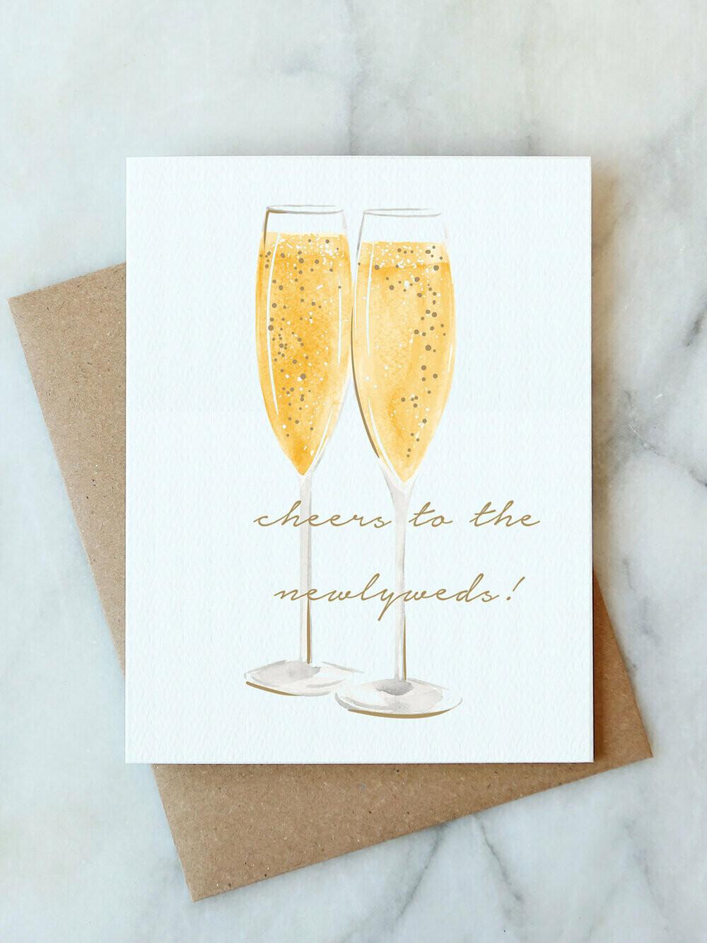 AJ Cheers Couple Card