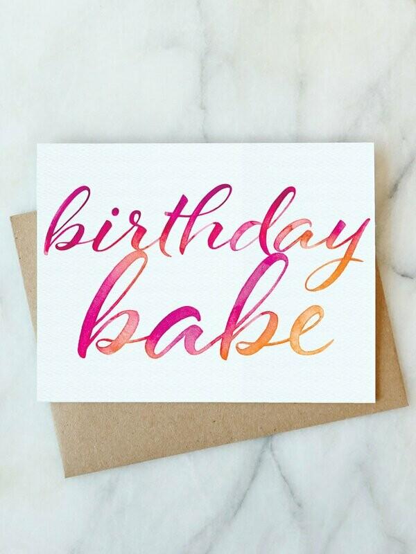 AJ Birthday Babe