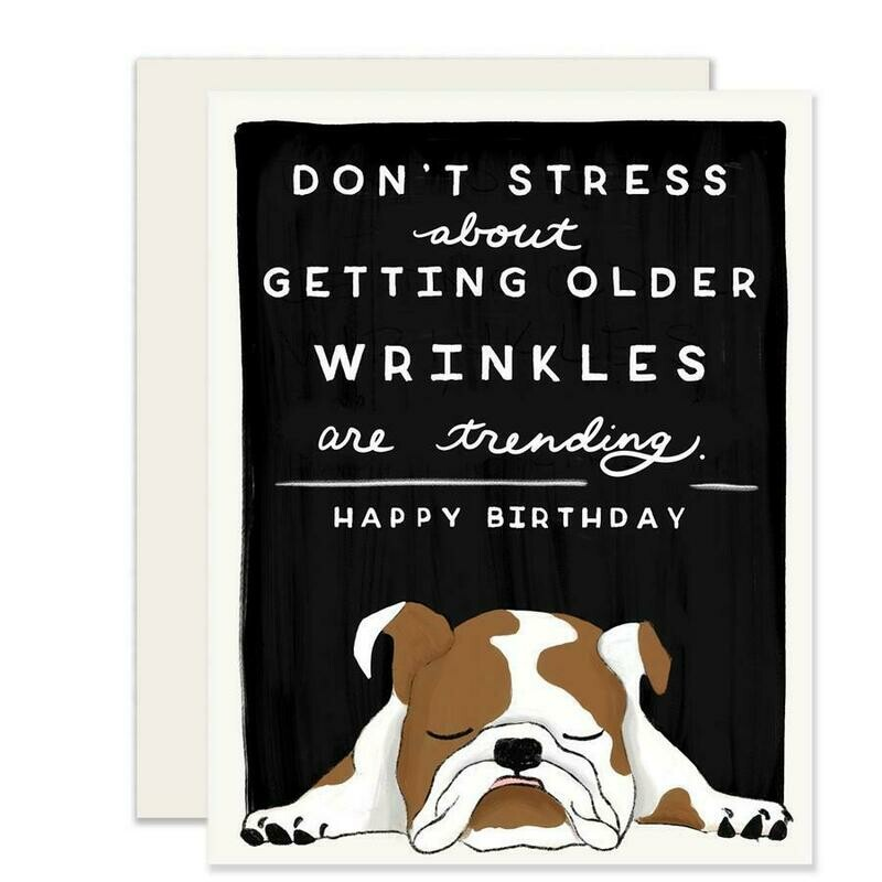 Wrinkles are Trending Card