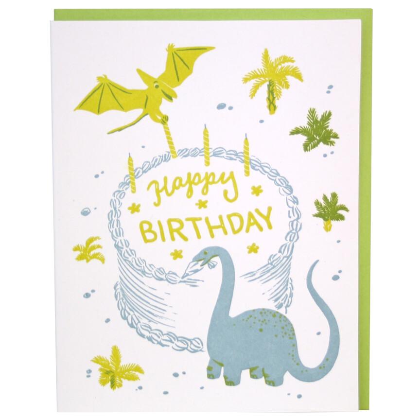Dino Birthday Card