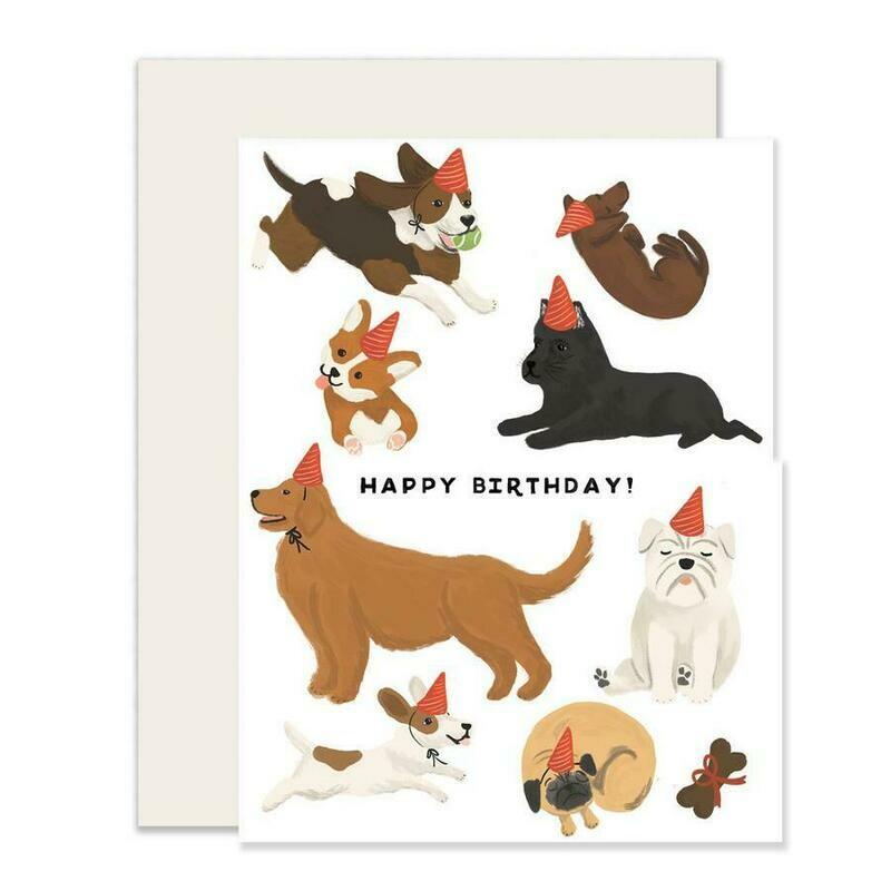 Pup Birthday Card