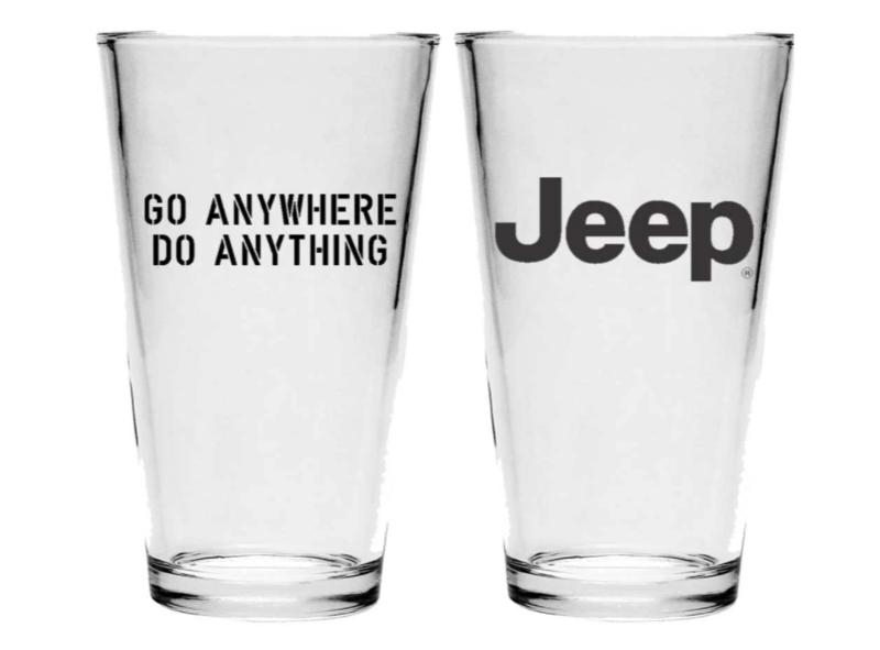 Jeep Go Anywhere - Pint Glass