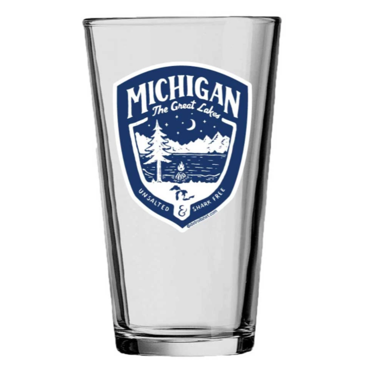 Great Lakes State - Pint Glass