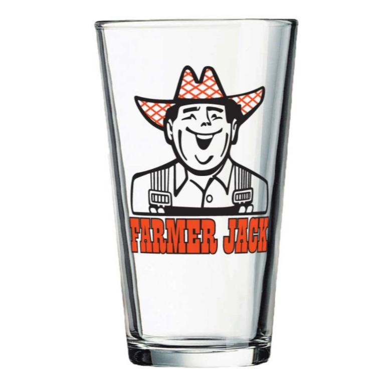 Farmer Jack - Pint Glass