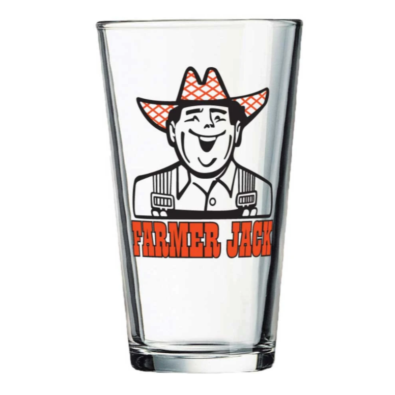 Farmer Jack - Pint Glass