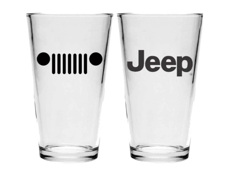 Jeep Grille - Pint Glass