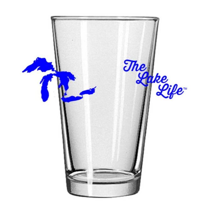 Lake Life - Pint Glass