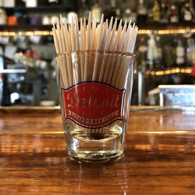Detroit Buckle - Shot Glass