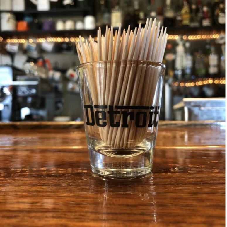 Detroit Grigio - Shot Glass