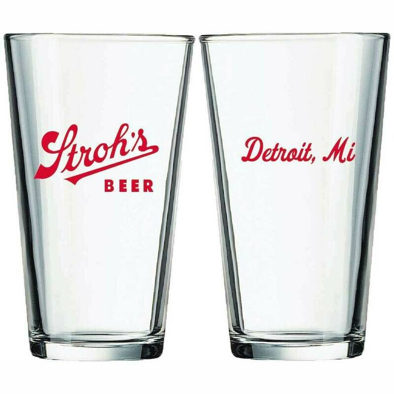 Stroh's - Pint Glass