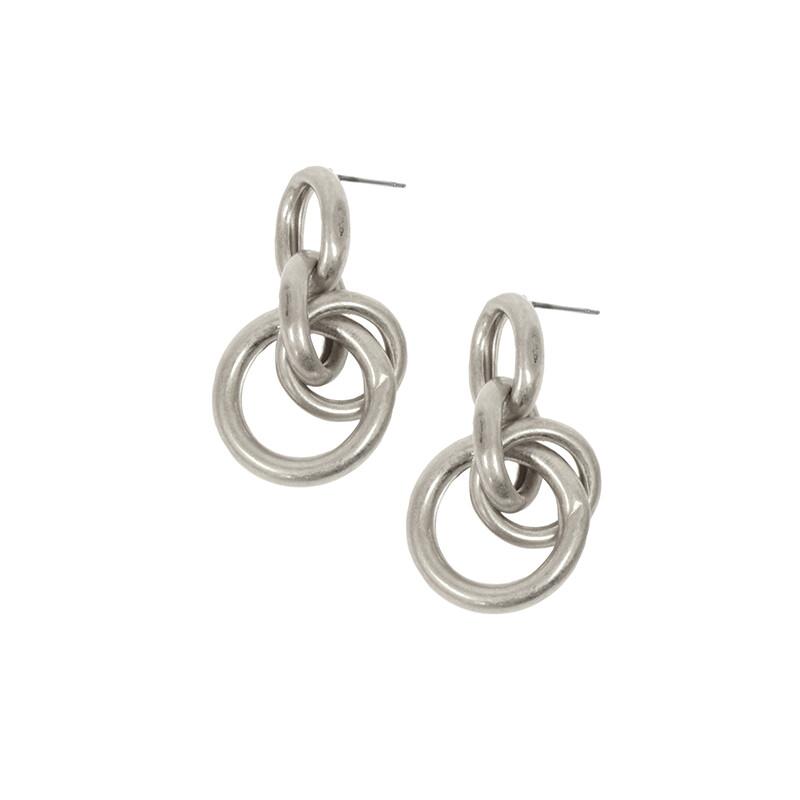 Ring Cluster Earrings