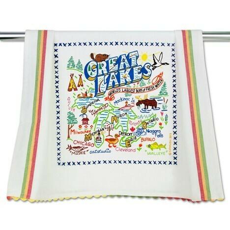 Great Lakes Dish Towel