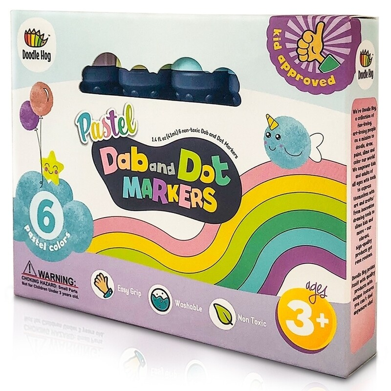 Dab and Dot Markers