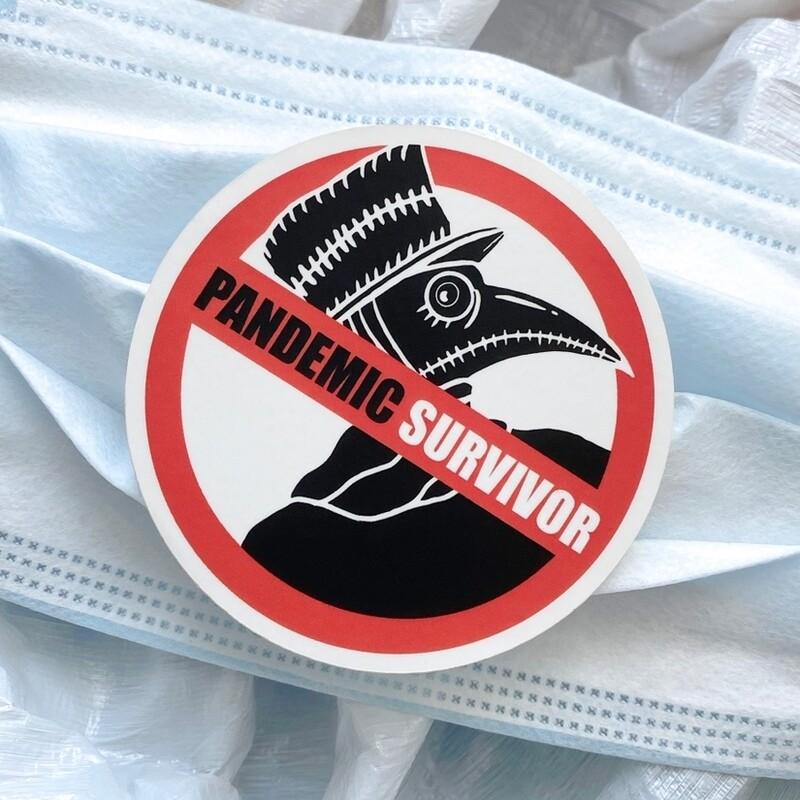 Pandemic Survivor Sticker