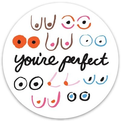 You're Perfect Sticker
