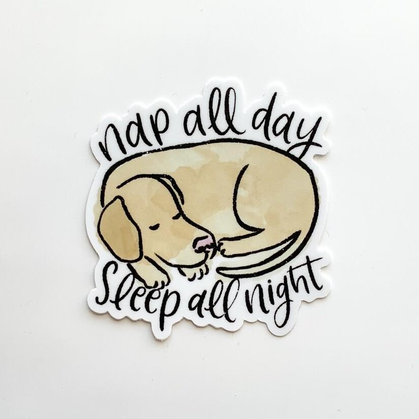 Nap Sticker