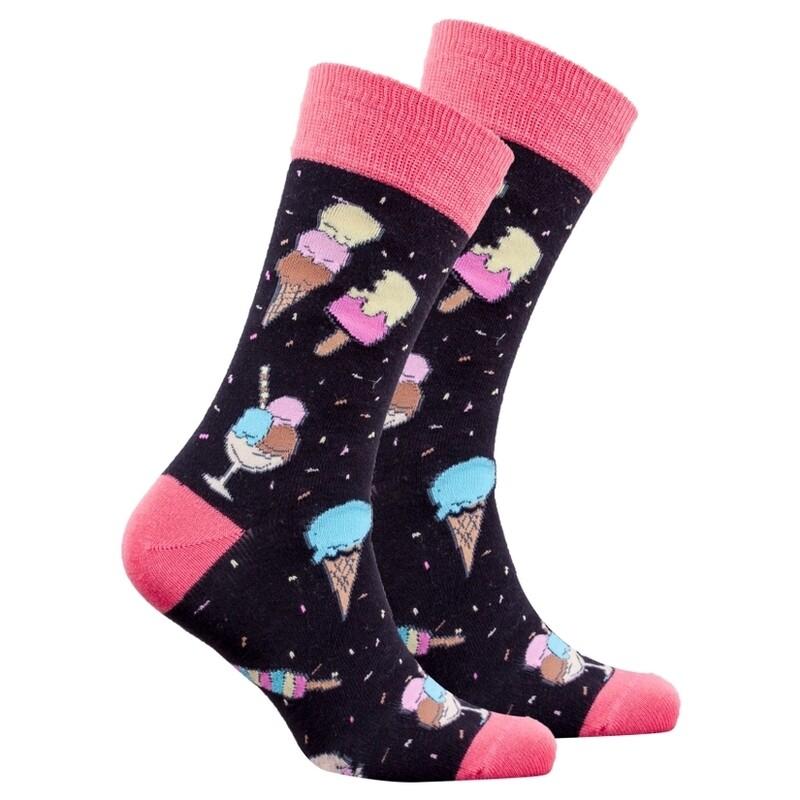 Ice Cream Men's Sock
