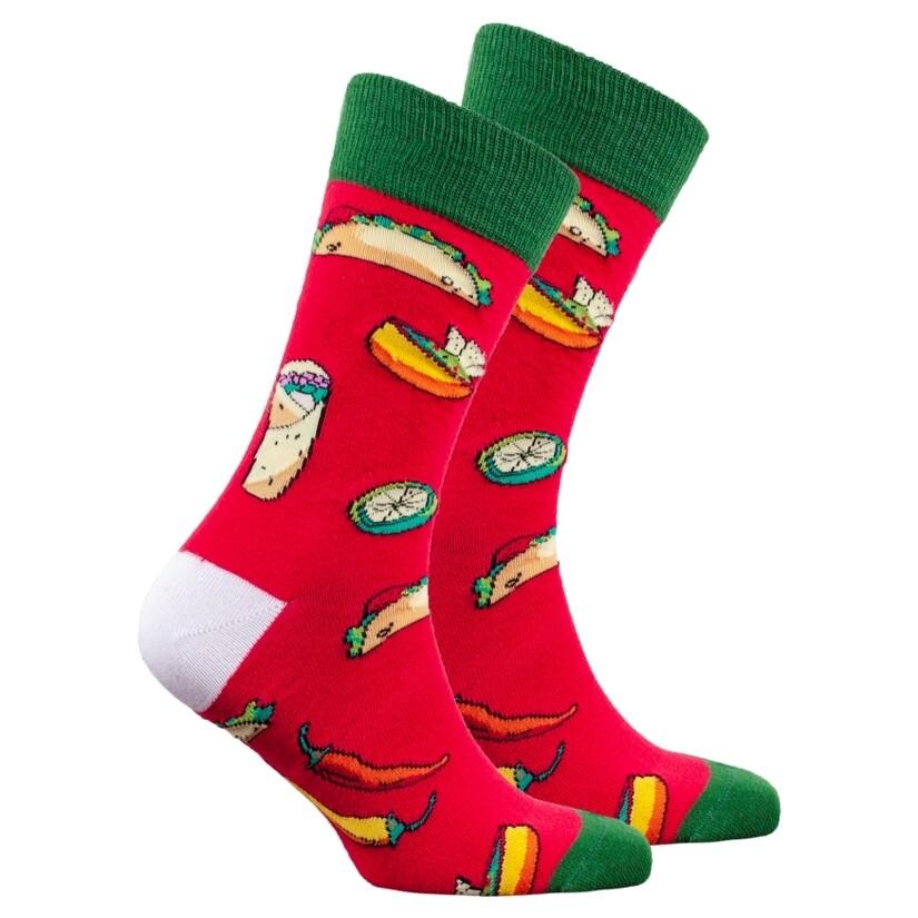 Red Taco Men's Sock