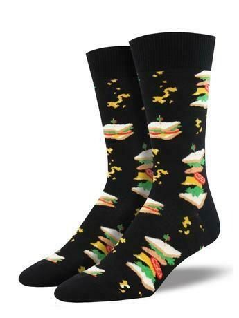 Sandwich Men's Sock