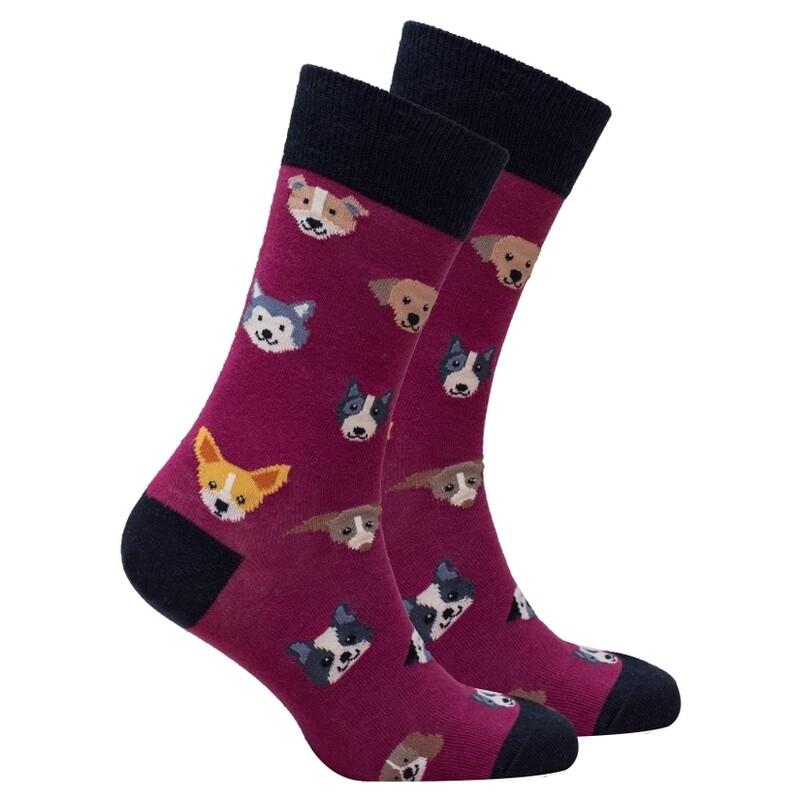 Dog Men's Sock