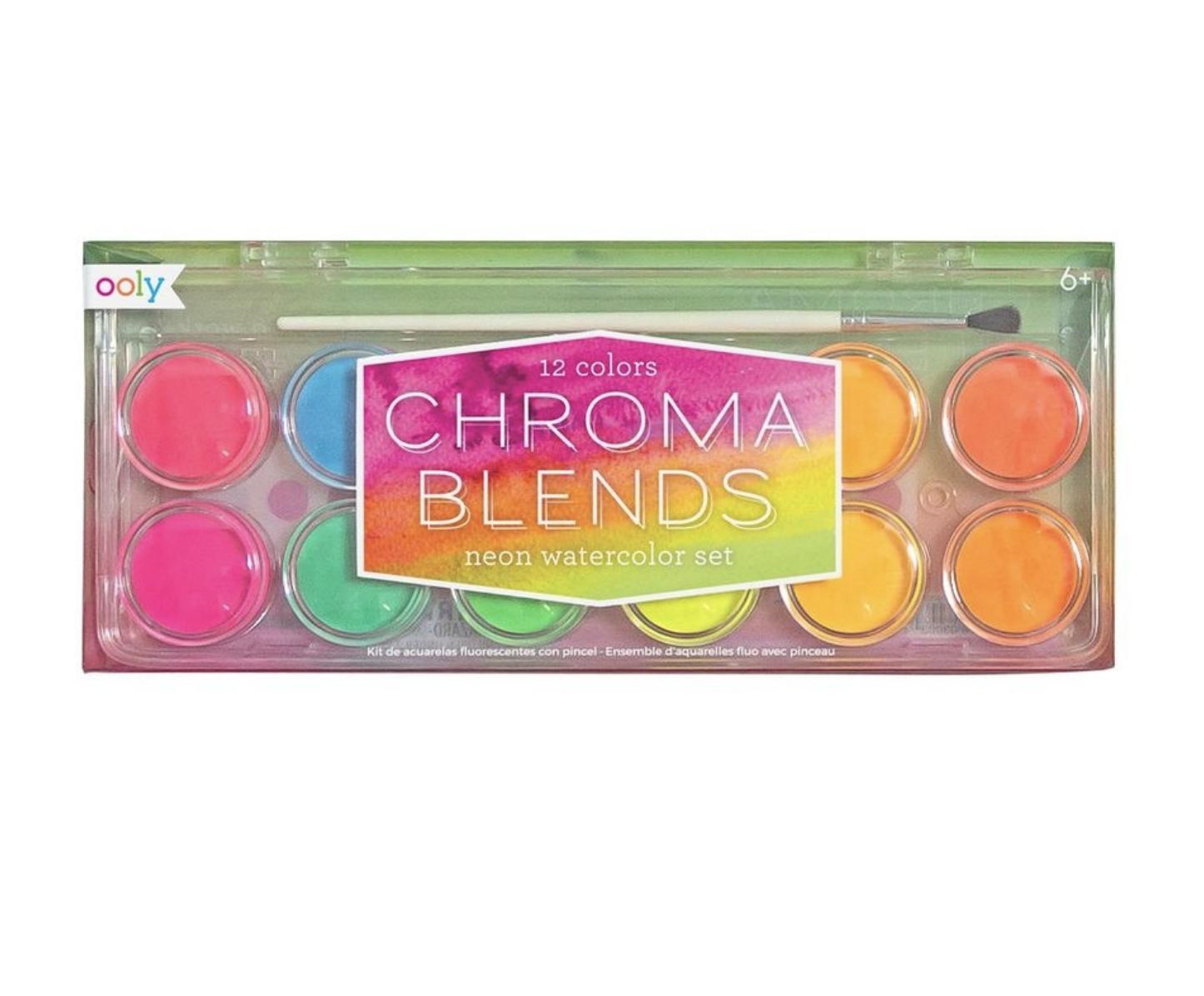 Chroma Neon Watercolor Paint