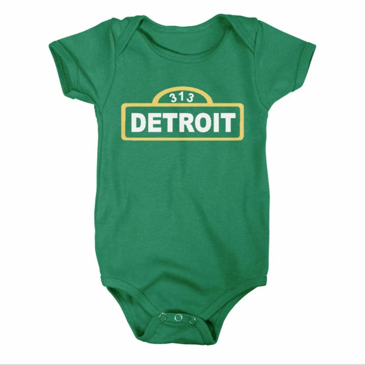 313 Detroit Onesie