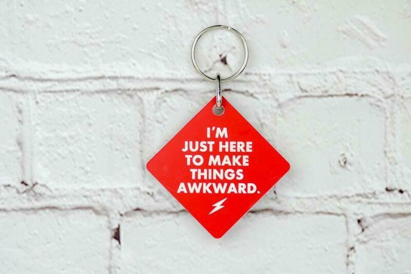 Awkward Keychain