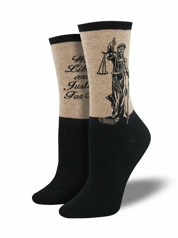 Lady Justice Women's Sock