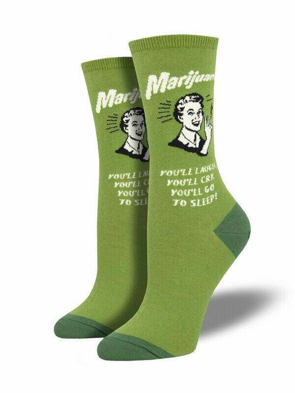 Marijuana Women's Sock